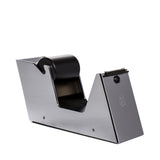 el casco tape dispenser black and chrome angle