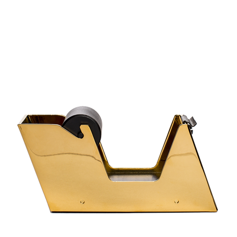 el casco tape dispenser black and gold front