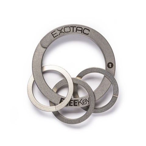 exotac freekey keyrings
