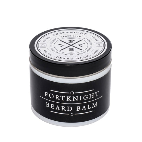 fortknight beard balm front angle