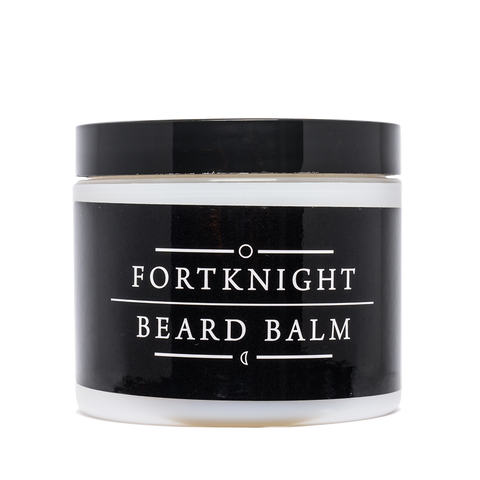fortknight beard balm front