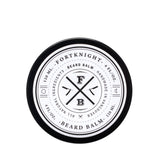 fortknight beard balm top label