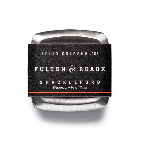 fulton & roark solid cologne shackeford