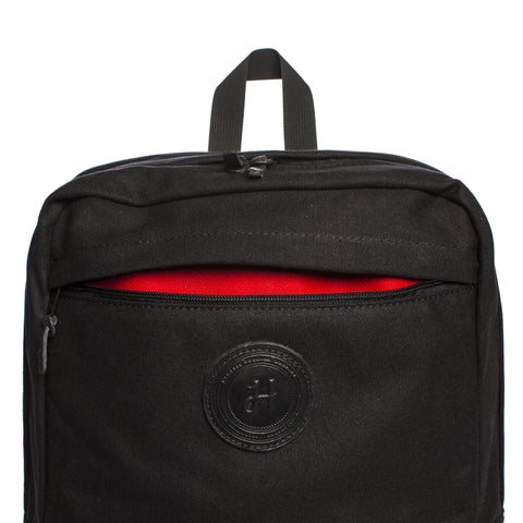 hemetic special edition backpack black detail