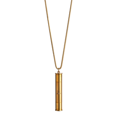 Brass Pipe Necklace