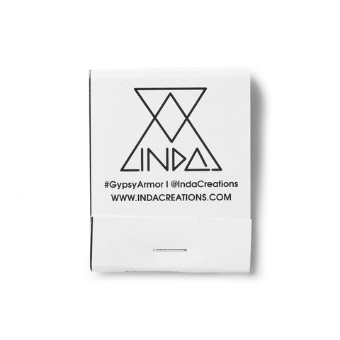 INDA Creations matchbook front
