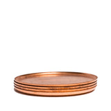 jacob bromwell elegant copper coasters stack