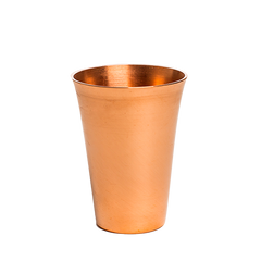 fluted copper shot glasses