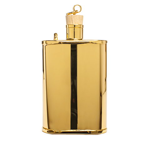 jacob bromwell gold edition flask front
