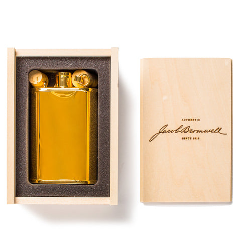 jacob bromwell gold edition flask in box