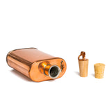 jacob bromwell great american flask pure copper top
