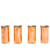 jacob bromwell old west pure copper shot glasses