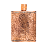 jacob bromwell pure copper freedom flask front