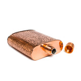 jacob bromwell pure copper freedom flask top