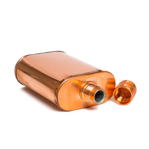 jacob bromwell pure copper vermonter flask top