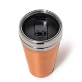 Jacob Bromwell Timeless Copper Thermos top angle