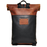 Craft & Caro x LTHR Supply Ruckpack bourbon back clean