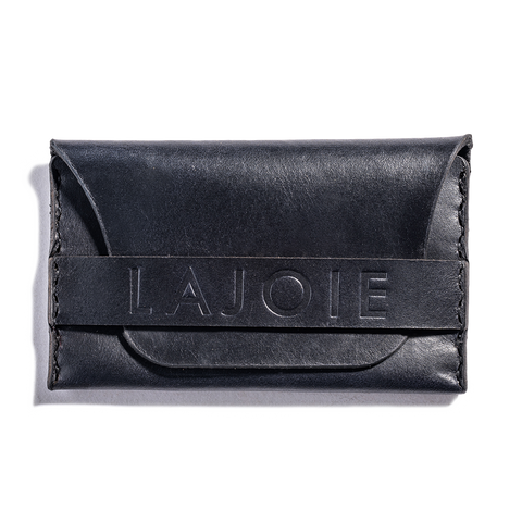 Lajoie card pocket wallet midnight front
