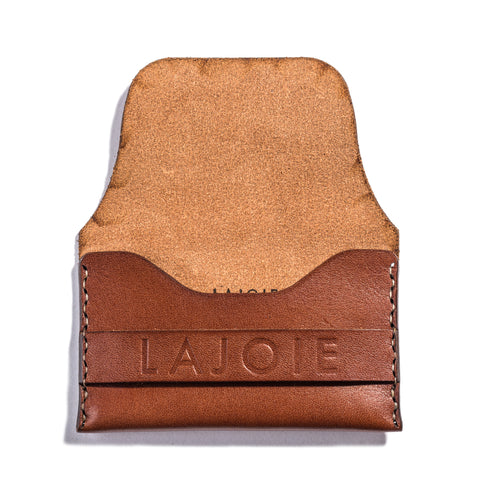 Lajoie card pocket wallet natural open