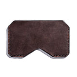 Lajoie mini pocket wallet cognac back