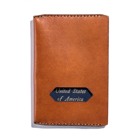 Lajoie pearson passport wallet natural front full