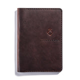 Lajoie troy travel wallet cognac front