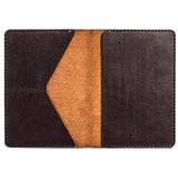 Lajoie troy travel wallet cognac inside