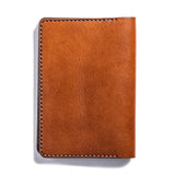 Lajoie troy travel wallet natural back