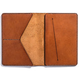 Lajoie troy travel wallet natural inside