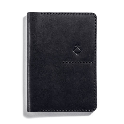 Lajoie troy travel wallet midnight front
