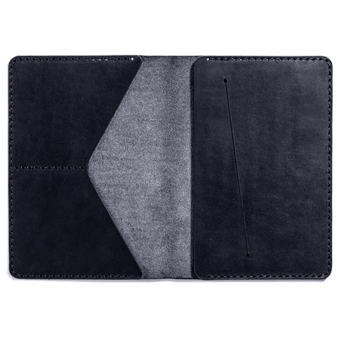 Lajoie troy travel wallet midnight inside