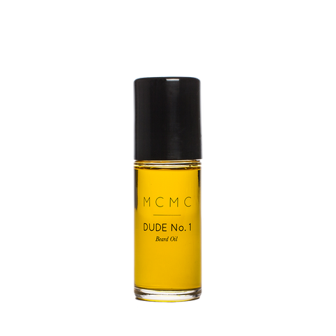 mcmc dude no.1 beard oil front