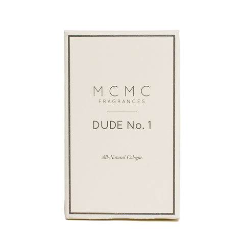 mcmc dude no.1 cologne front boxed