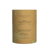 mcmc garden candle back package