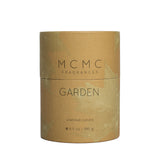 mcmc garden candle front package