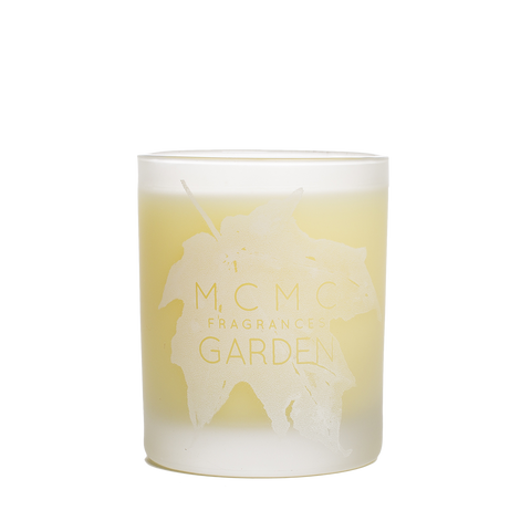 mcmc garden candle front