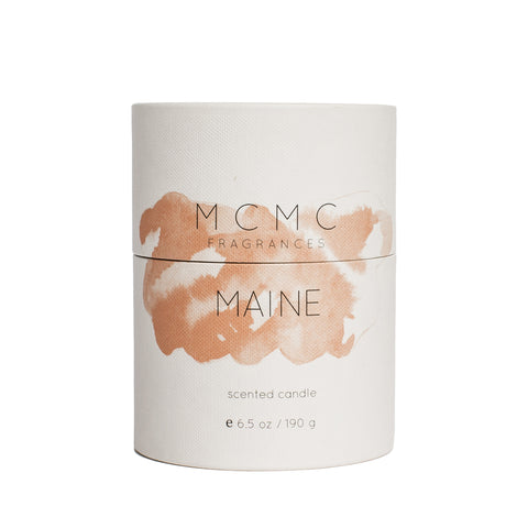 mcmc maine candle front package
