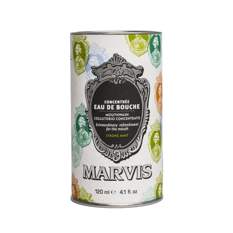 marvis mouthwash tin front