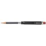 metal shop bullet pencil black aluminum open
