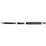 Metal Shop Blackout Bullet Pencil, separated
