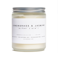 lemongrass jasmine candle