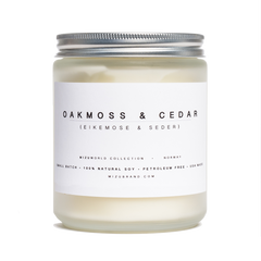 oakmoss cedar candle