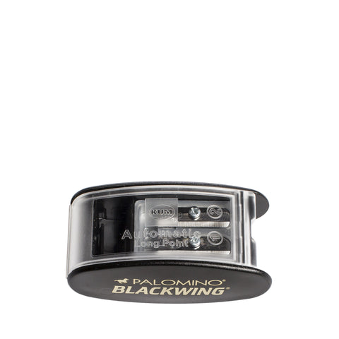 palomino blackwing kum pencil sharpener black top