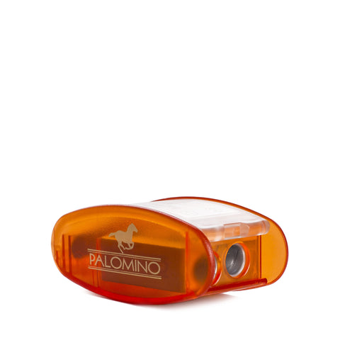 palomino blackwing kum pencil sharpener orange front