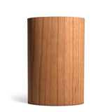prink cherry wood bottle koozie front