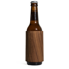 walnut wood koozies