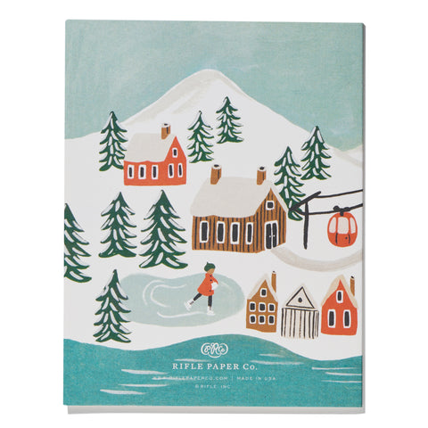 Holiday Snow Scene
