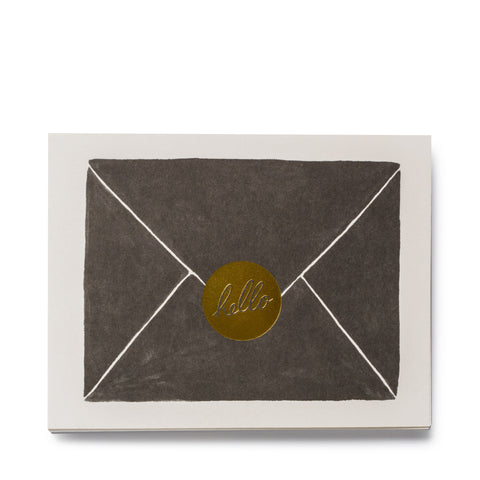 rifle paper co hello cards letter