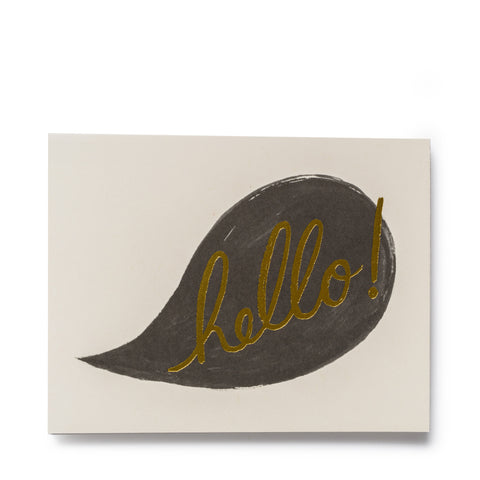rifle paper co hello cards conversation
