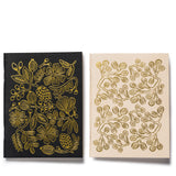 rifle paper co gold foil pocket notebook set separated
